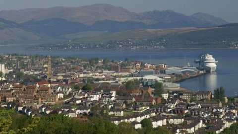 Cruise Liner (Greenock) Inverclyde Harbour
